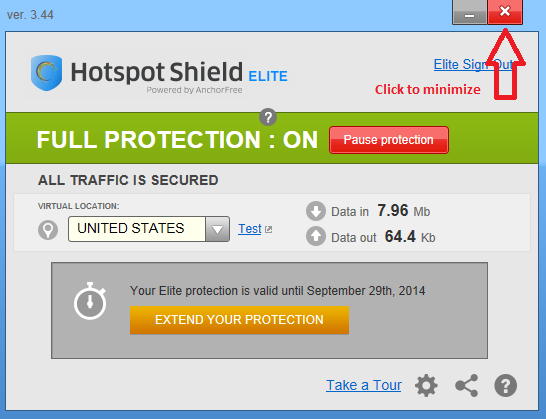 windows 8 hotspot shield